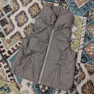Cute Gray Puffy Vest